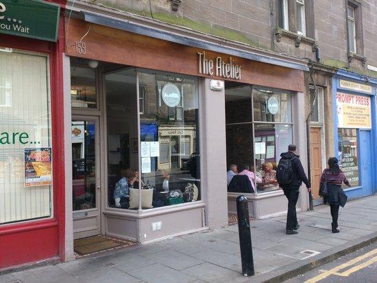The Atelier Restaurant: exterior