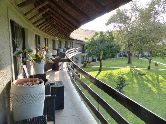 A'Zambezi River Lodge: View from balcony