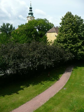 The Aquincum Hotel Budapest : View from our room