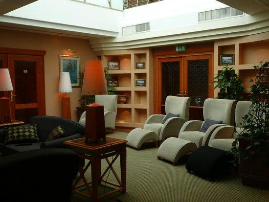 The Aquincum Hotel Budapest: Executive Lounge