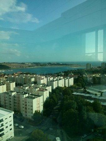 HF Ipanema Park : Vu du 15ème étage (au niveau de la piscine)