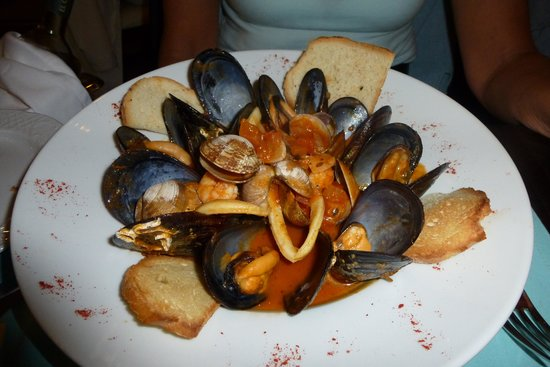 Divina Italia: Seafood starter