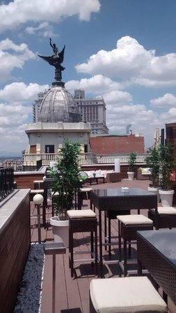 Hotel Vincci Via 66: Terraza Azotea
