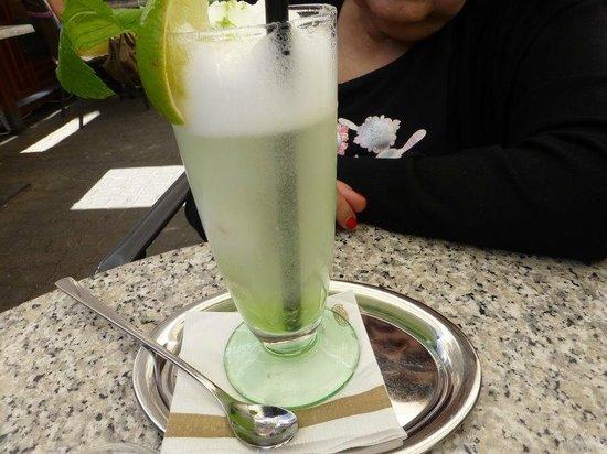 Gerbeaud : Very Refreshing Mojito Sundae