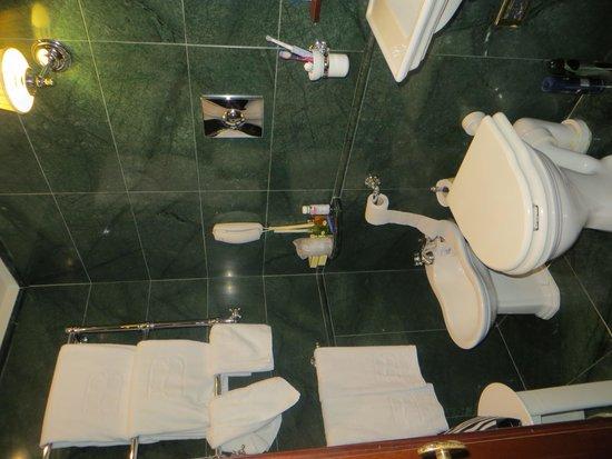 Hotel Bucintoro : our bathroom