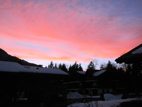 L'Epilobe : ciel couchant