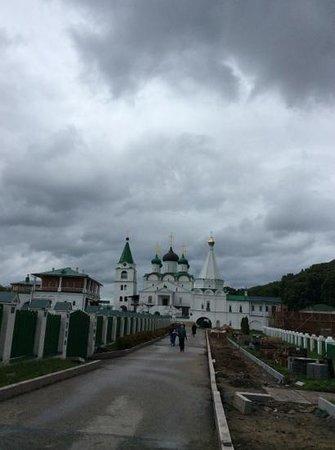Pechersky Ascension Monastery : Entrada do Monastério