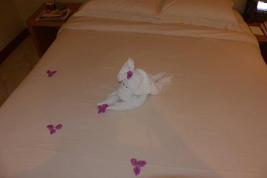 Beachcomber Le Mauricia Hotel : beau geste du personnel