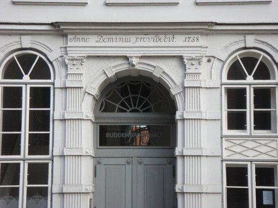 Buddenbrookhaus: Dettaglio ingresso