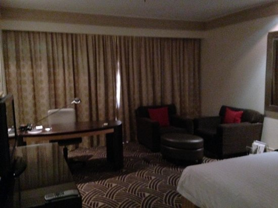 Hyatt Hotel Canberra: Hotel room (first floor); needs a bit of an update