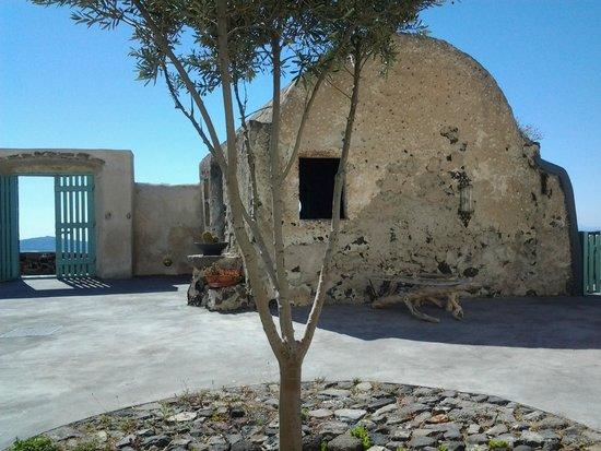 Remezzo Villas : Blick von der Kirche zum Meer