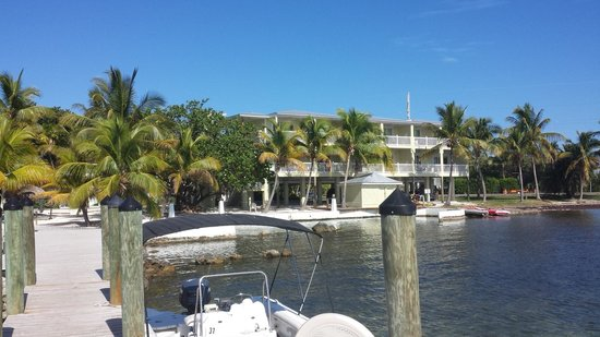 Lime Tree Bay Resort : Our room from the dock view