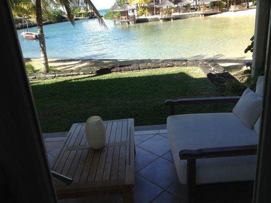 Paradise Cove Boutique Hotel: Vue de la terrasse