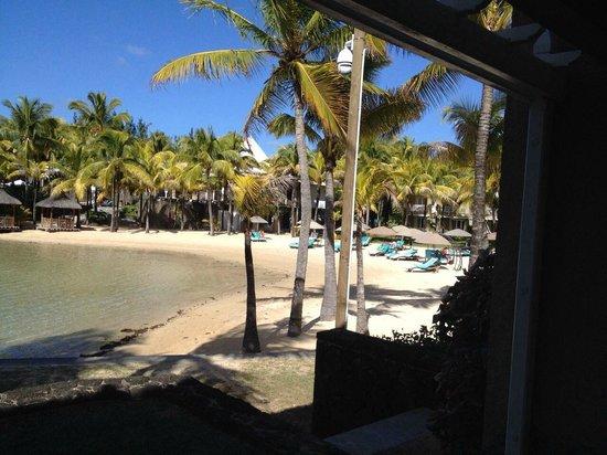 Paradise Cove Boutique Hotel: Vue de la terrasse (plage principale)