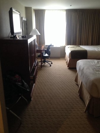 Skyline Hotel : Nice clean room with a great view