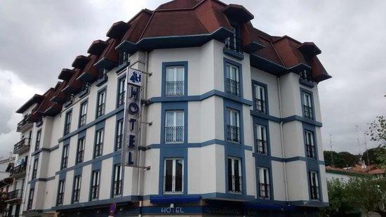 Hotel Jauregui : Fachada