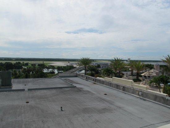 Hyatt Regency Orlando International Airport: Utsikt fra rom i 7 etasje