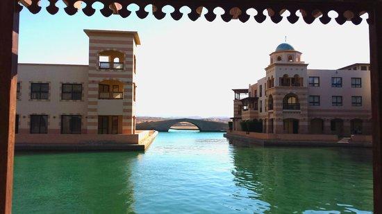 Marina Lodge at Port Ghalib: Port Ghalib im Aufbau (klein Venedig)