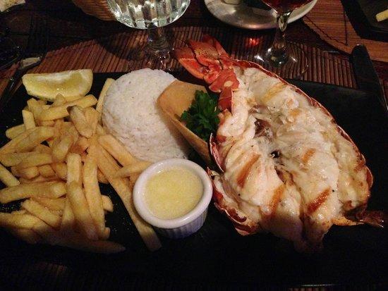 Tamarind Beach Hotel & Yacht Club: Cucina