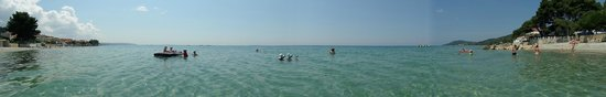Mola Kalyva, Grecia: Beach area, panorama