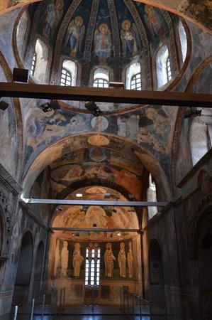 Kariye Museum (The Chora Church): Les fresques de l'entrée