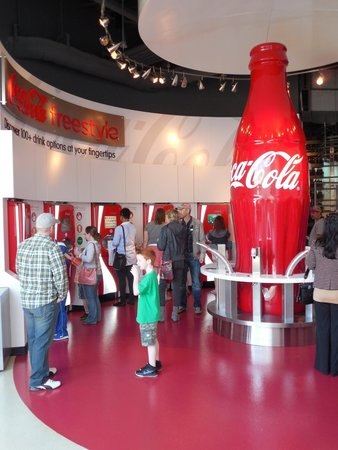 World of Coca-Cola: After the tasting room