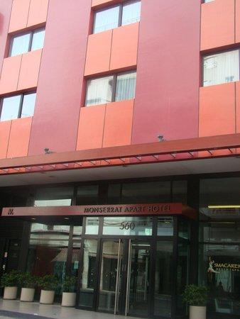 Frente do Monserrat Apart Hotel
