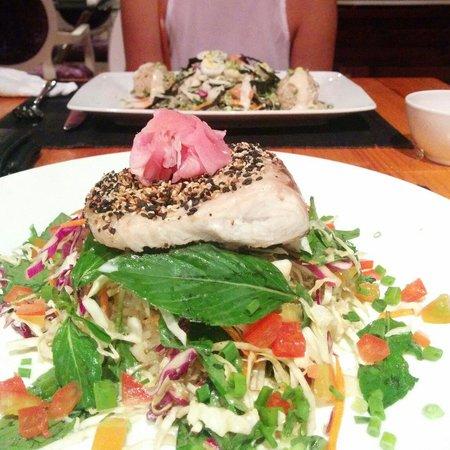 Scott and Binh's: Wasabi Mackerel, awesome!