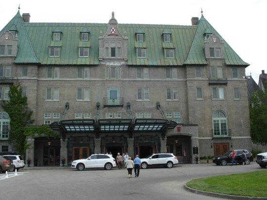 Fairmont Le Manoir Richelieu : The Manoir Richelieu main facade.