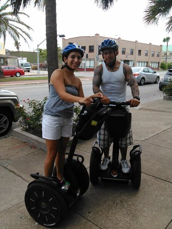 Segway Tours by SegCity: away we go
