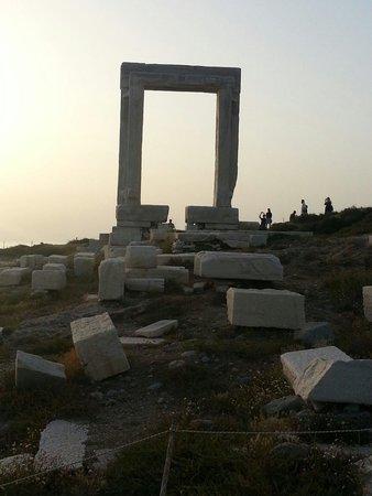 Dina Studios: Gateway - to where? Naxos, Greece.