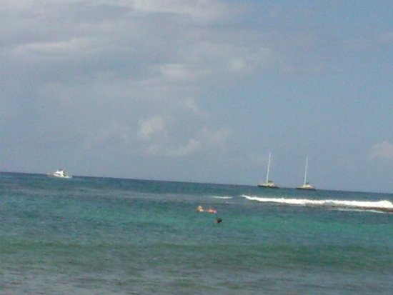 Poipu Beach Park: great beach for, snorkeling, swimming, relaxing or just watching the boats