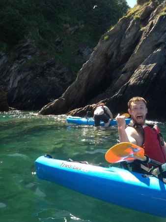 Watermouth Cove Holiday Park: Kayaking