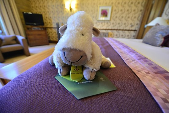 """South Lodge Hotel: Our """"Do Not Disturb"""" Sign"""