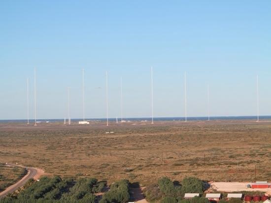Vlamingh Head Lighthouse: Radio towers