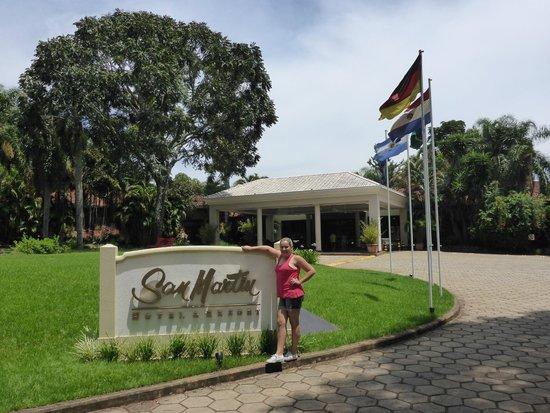 San Martin Hotel & Resort: Hall de entrada