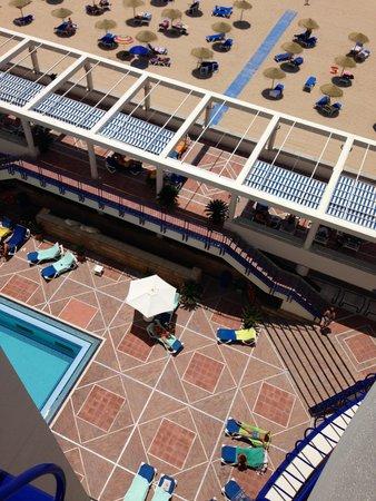 Hotel Playa Victoria: Vista