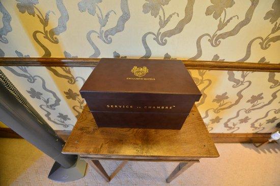 South Lodge Hotel: Tea & Coffee Making Facilities
