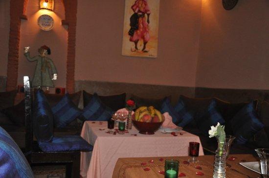 Riad des Etoiles : salon