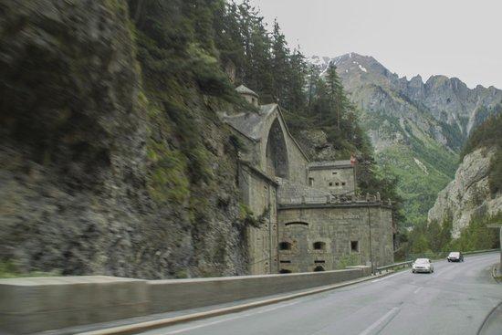 Posthotel Pfunds: La forteresse de NAUDERS.