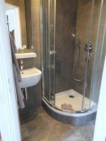 Hotel de la Porte Doree: the shower