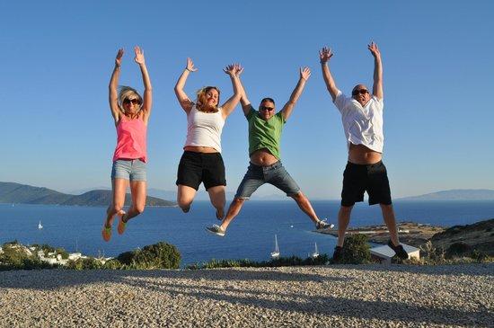 Aegean Gingers Segway Tours: windmills