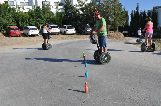 Aegean Gingers Segway Tours: training