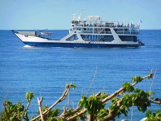 IOS Paleochora: The Samaria boat going past your room at IOS