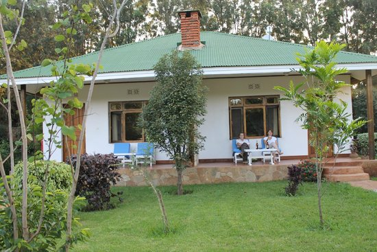 Country Lodge : Each cottage has two rooms