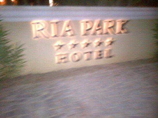 Ria Park Hotel&Spa: hotel