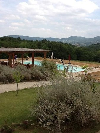 I Casali di Colle San Paolo.  Pool at Poderaccio apartment. Beautiful views!