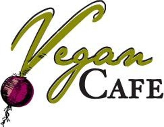 The Vegan Cafe: The new and improved Vegan Café logo!