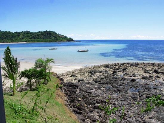 Andilana Beach Resort : vista dal ristorante  amare