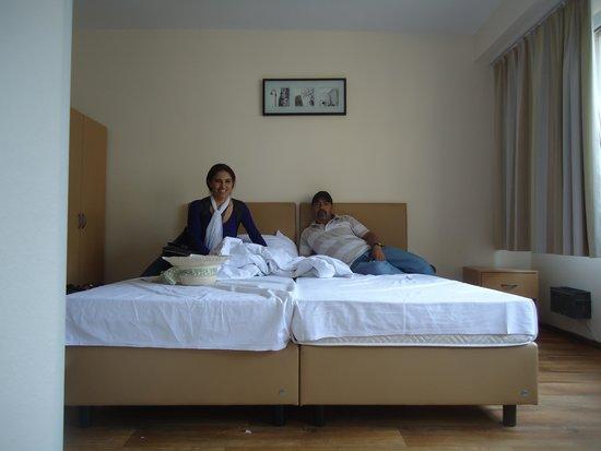 Pension Alpha : En la habitacion